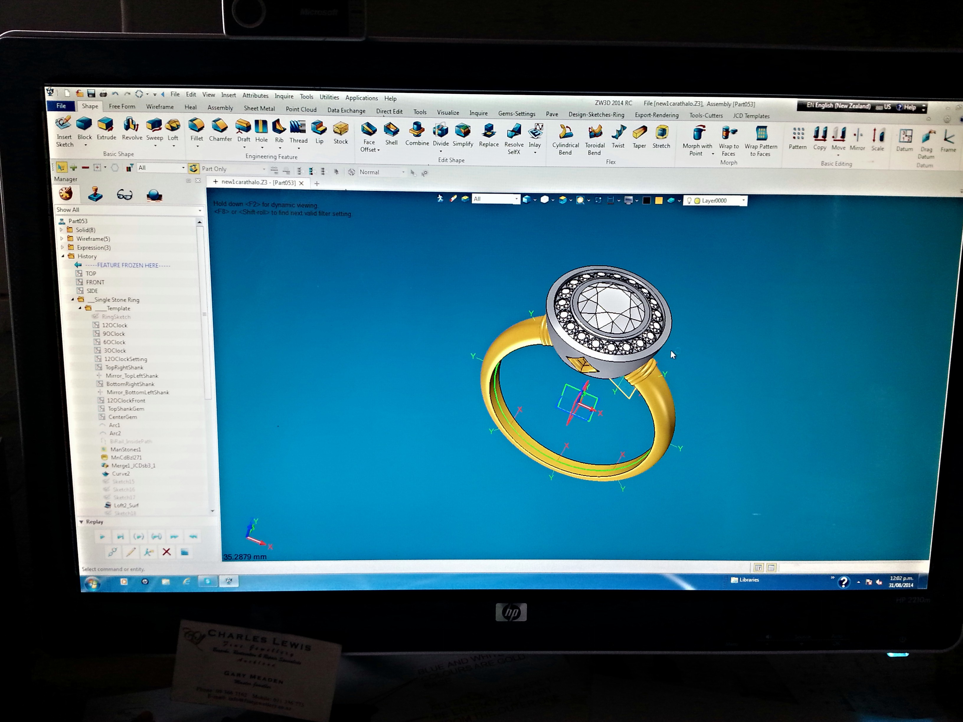 Jewelry Cad Designs Jewelry Cad Dream software
