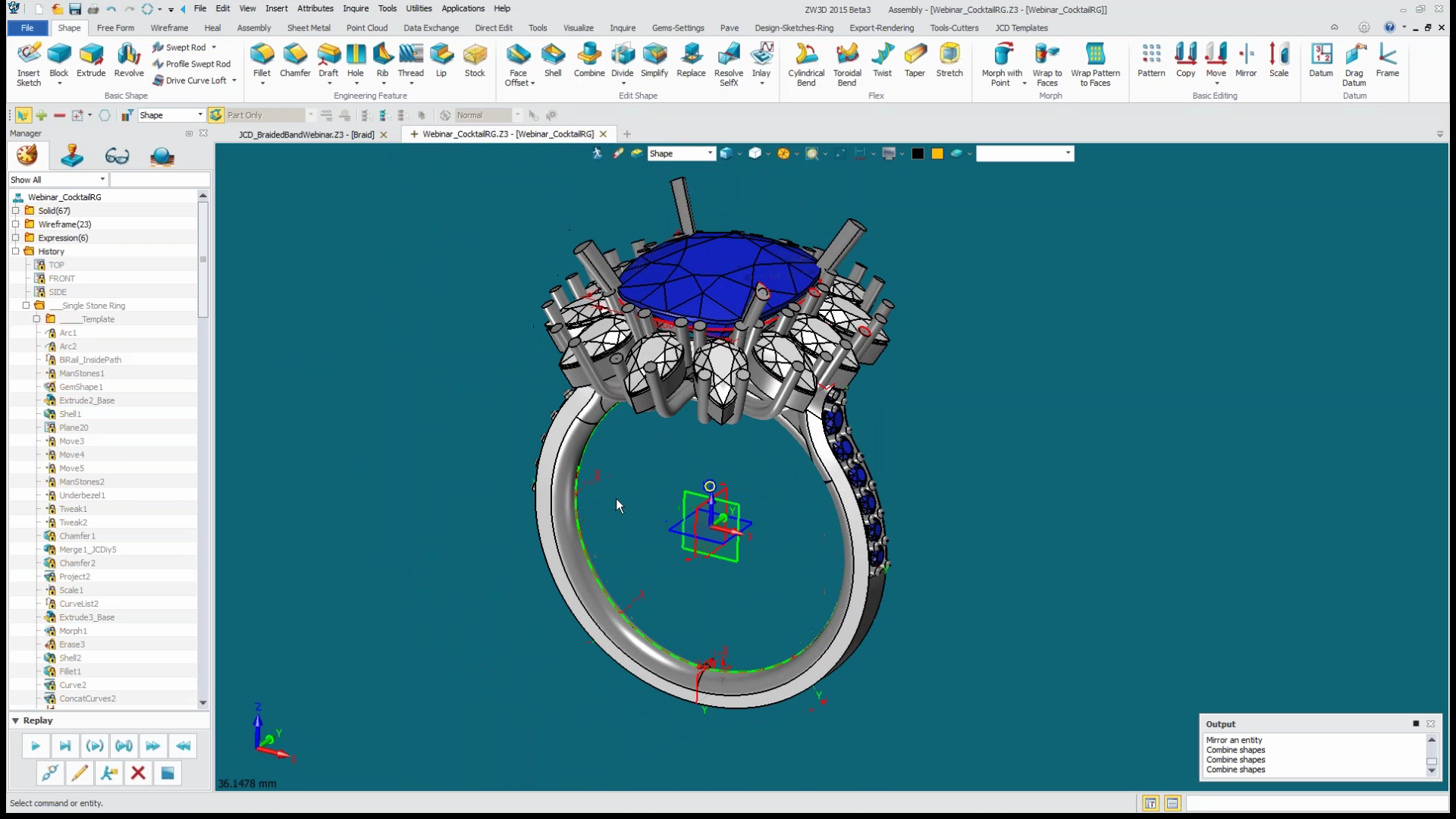 The Dynamics of Jewelry Cad Dream 2015 Professional software ...